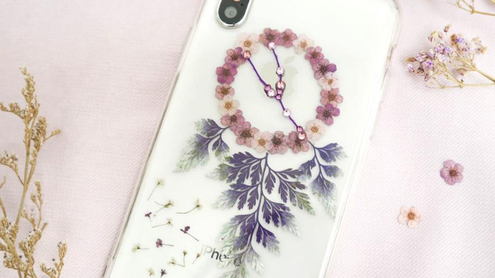 12-Zodiac Pressed Flower Dreamcatcher Phone Case Workshop