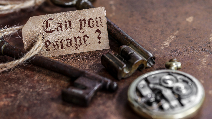 Enter an Interactive Game of 60 Minute  Escape in 4 Rooms