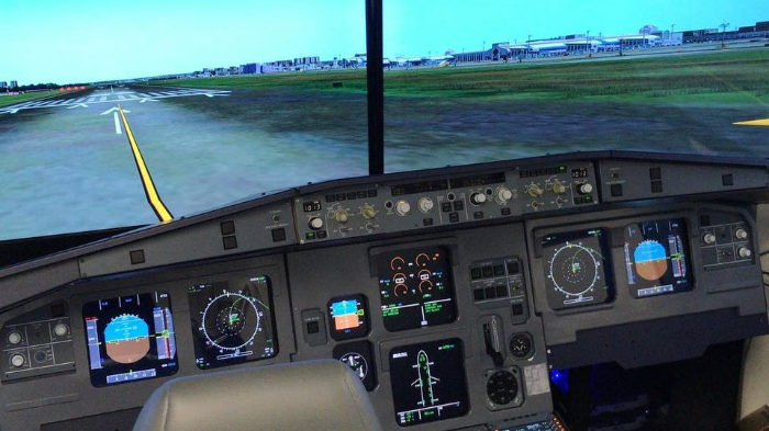 Get Ready for this Flight Simulator  Experience for Two