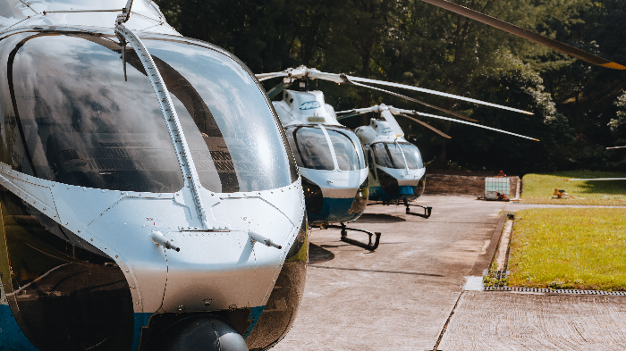 Hong Kong Big Buddha Helicopter  Experience, Private Session