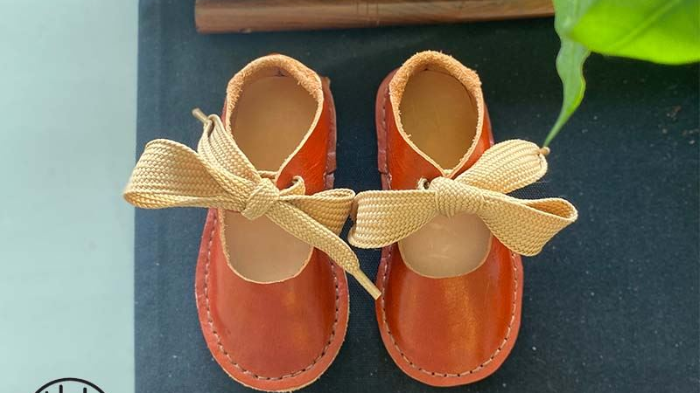 Fun-Filled DIY Kids Leather Shoe  Workshop
