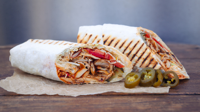 Order Two Tasty and Juicy Chicken  Shawarma @ Agora Kebab