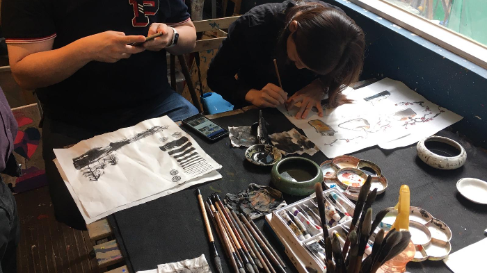 Create Stunning Chinese Painting in this  Workshop