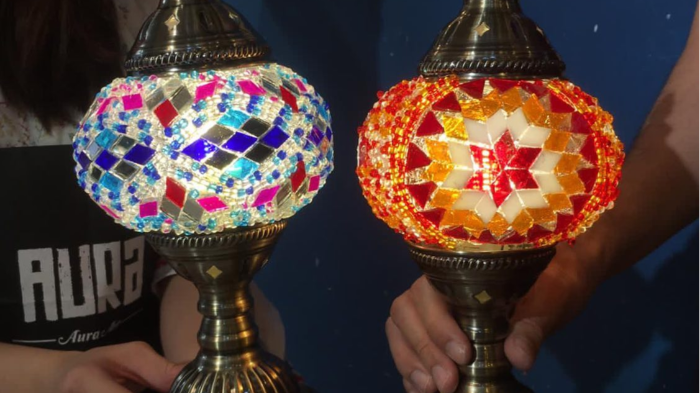Get Creative & Artistic with this Mosaic  lamp Workshop