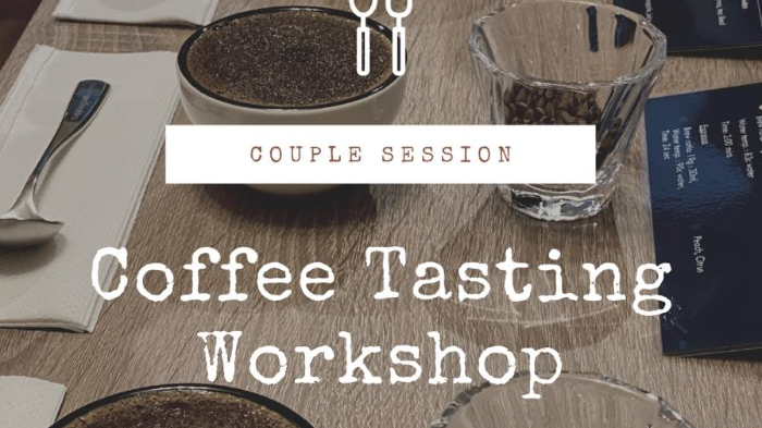 Get a Tasting Experience w/ Coffee  Sensory Workshop for 2
