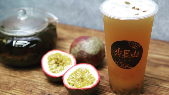 Chill with Passion Fruit 4 Seasons  Oolong for Two