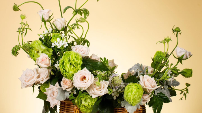 Be Creative with This Flower Basket  Workshop for Two Person